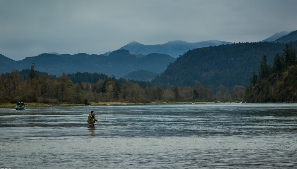 The Harrison river